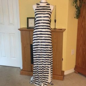 Ralph Lauren Blue strip Maxi.